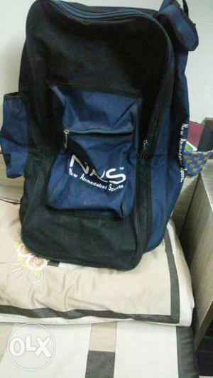 New Ahemdabad Sports (NAS) cricket kit bag. Used
