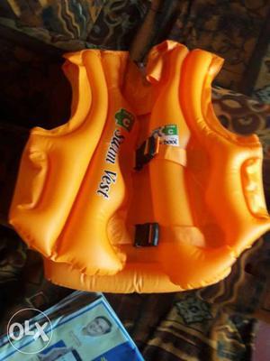 Yellow Inflatable Vest