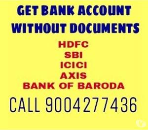 Get Bank Account - Saving Or Current Within 40 days Call Now