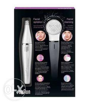 Braun face epilator for women..just used