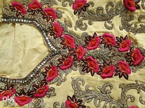 Ethnic designer collection with real kundan work