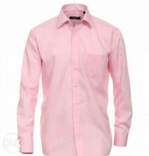 New pink formal shirt for men not use Branded if