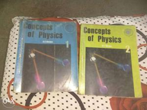 Concepts of Physics By H.C VERMA Vol.1 & Vol.2 In