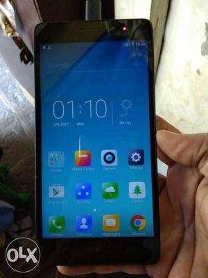 Excellent condition lenovo k3 note for urjent sell