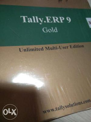 Tally.erp 9 Gold Unlimited Multi-user Edition Box