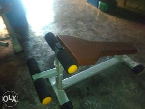 Brown And Gray Inclined Bench Press