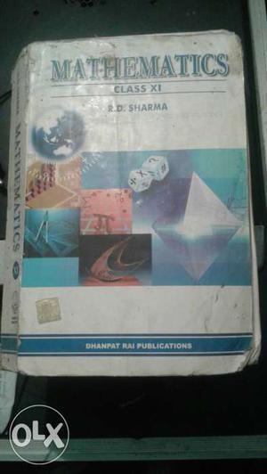 Mathematics Class XI By R.d. Sharma Book