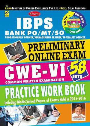 New book kiran's ibps practice work book very