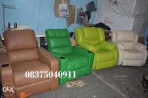 StressFree Recliners, New Brand Recliner Sofa, Home Theater