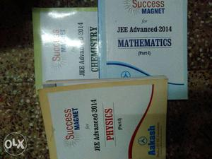 Sucess magnet of aakash coching for IIT JEE OF- all 3 sub