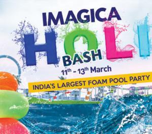 Water Park Holi Celebration Mumbai