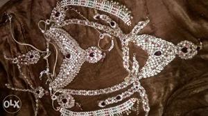 Beautiful Bridal jewellery set consisting of