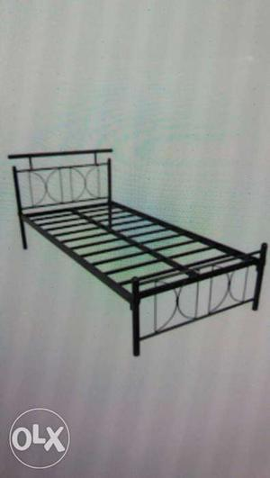 Black Wrought Iron Bed Frame