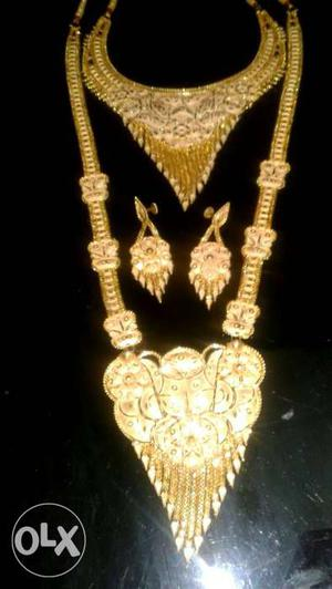 Imported Boought in Dubai Gold platted Jewellery Brand New