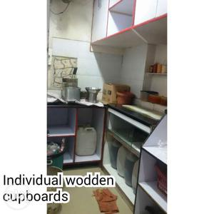 Individual Wooden Cupboards