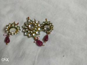 Kundan pendant set
