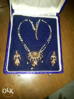 Moti with kundan set unbelievable discount price