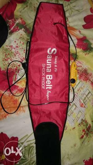 Red Sanna Belt Shock Proof