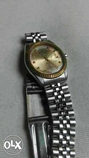 Westend Swiss made Automatic watch White dail