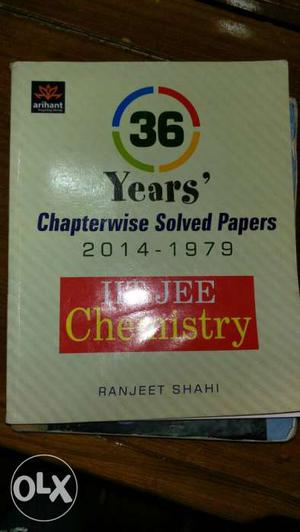 36 Year's Chapterwise Solved Papers Book