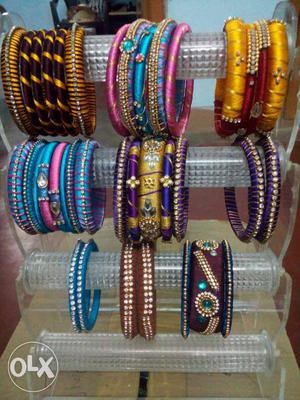 Based on the design and counting of the bangles
