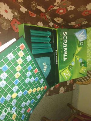 Brand new Scrabble set.