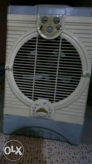 White And Blue Electric Heater