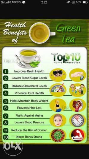 Green tea / Darjeeling tea / white tea Assam tea