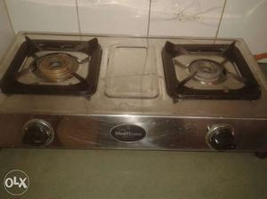 Nice Sunflame Stainless Steel Gas Stove Arjant