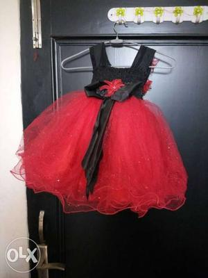 Brand new party wear frock/ dress for 1 to 2 year