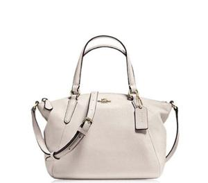Coach Chalk Small Kelsey Satchel at Darveys Delhi