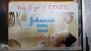 Johnson Baby Soap 150gm buy 3 get 1 free