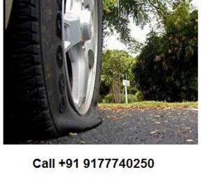 Onsite 2,4 Wheeler Tire Puncture & Repair Service in Hitech