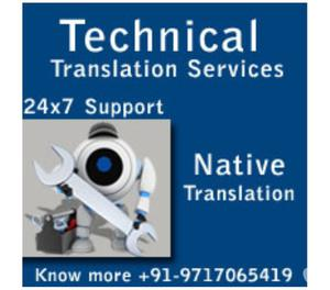 Professional High Quality Technical Translation Services Ind