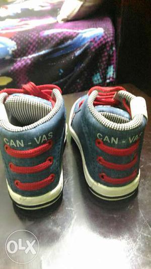 Unused kids shoes size-cm) company-canvas