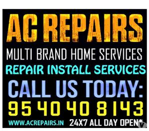 Window & Split AC Repair, Service Installation in Delhi NCR
