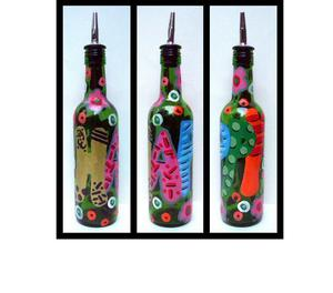 Buy Online Decorative Bottle, Hand painted stylish Bottle