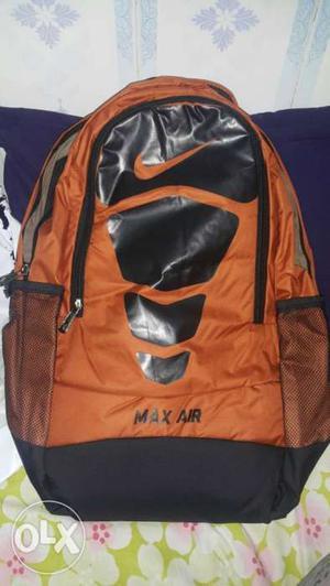 Nike Max air back pack or bag at very low price.
