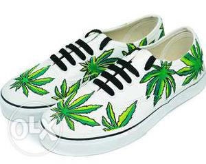 Vans shoes (hand painted) washable and color