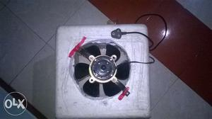 Homemade air conditioner.