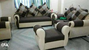 New fancy sofas set 2year warranty