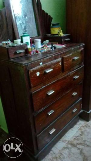 Dressing table made of eetti wood lots of drawers