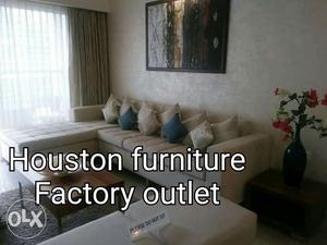 High quality sofa and high quality finishes