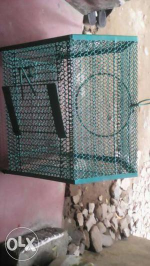 A bird house in a very good condition