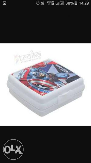 Captain America Plastic Case\
