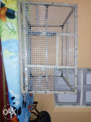 Home made cage for breeding of birds and any kind
