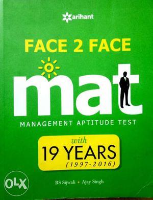 Latest arihant MAT Face 2 Face book.With 19 years