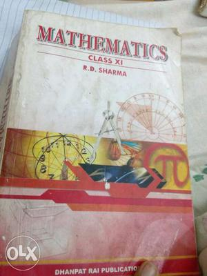Mathematics Class XI By R.d, Sharma
