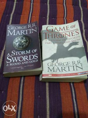 A storm of swords(part 1 and 2). book number 3