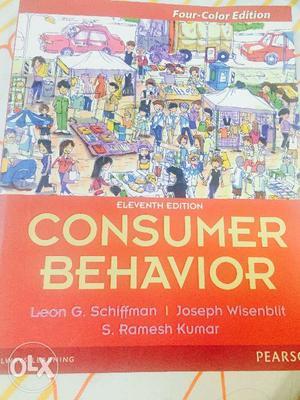 Brand new -Consumer Behavior book by Leon G.